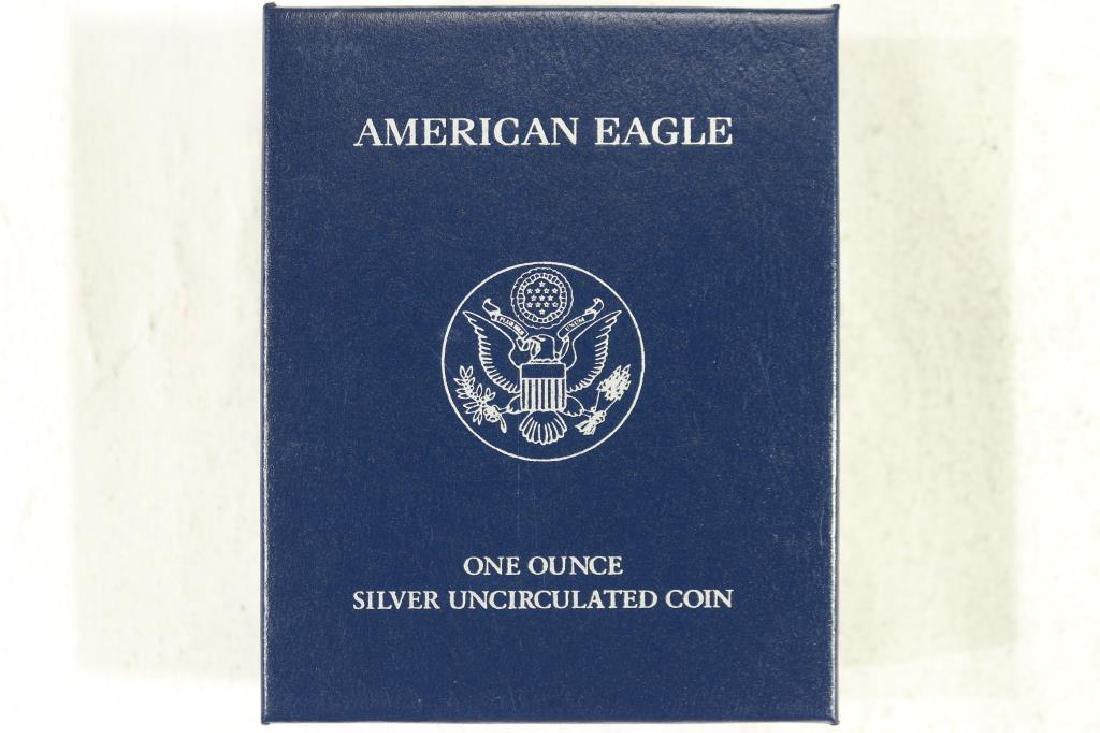 2012-W AMERICAN SILVER EAGLE UNC ORIGINAL MINT - 3