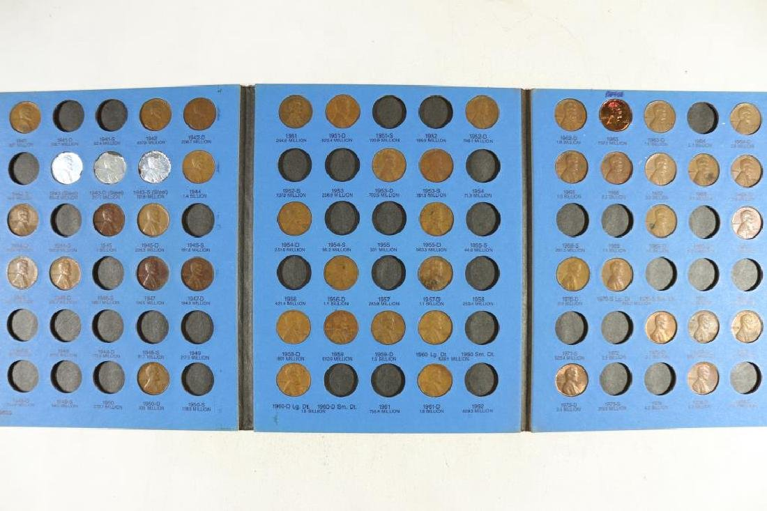 2 PARTIAL LINCOLN CENT SETS 1909-1940 HAS 55 COINS - 2