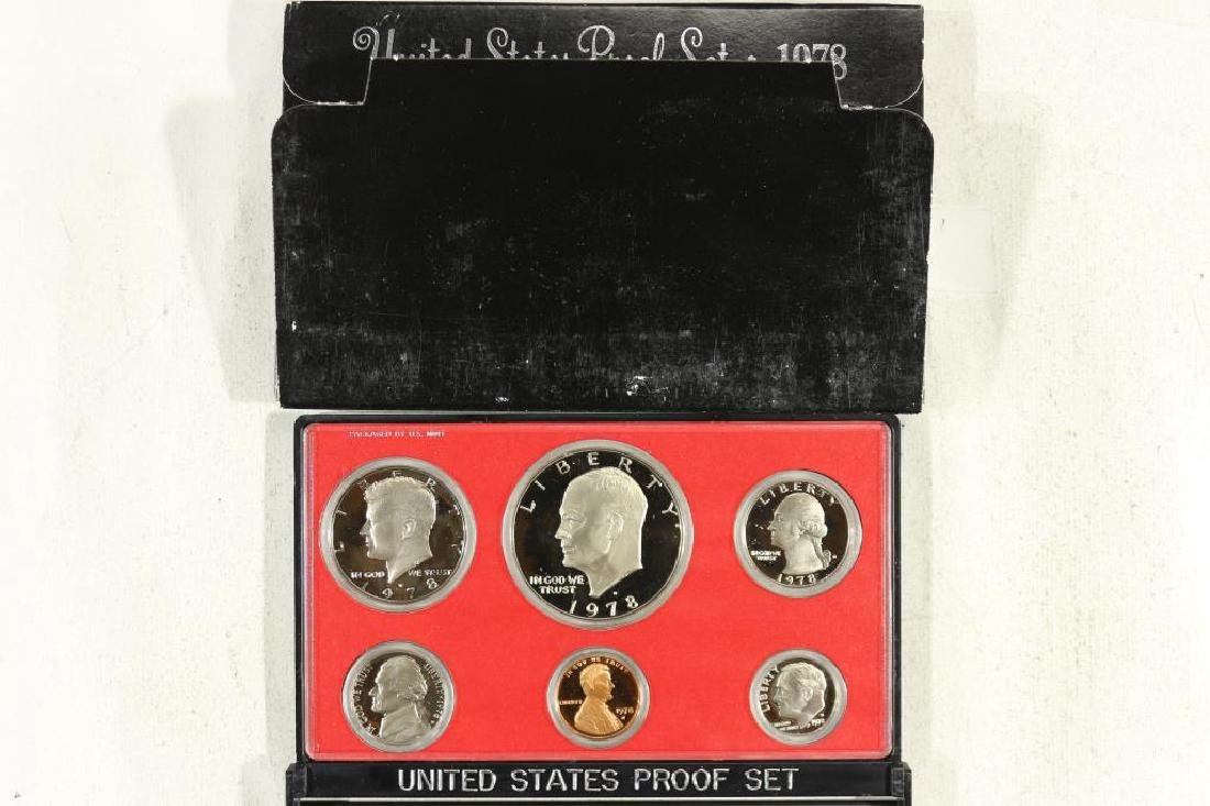 1978 US PROOF SET (WITH BOX)