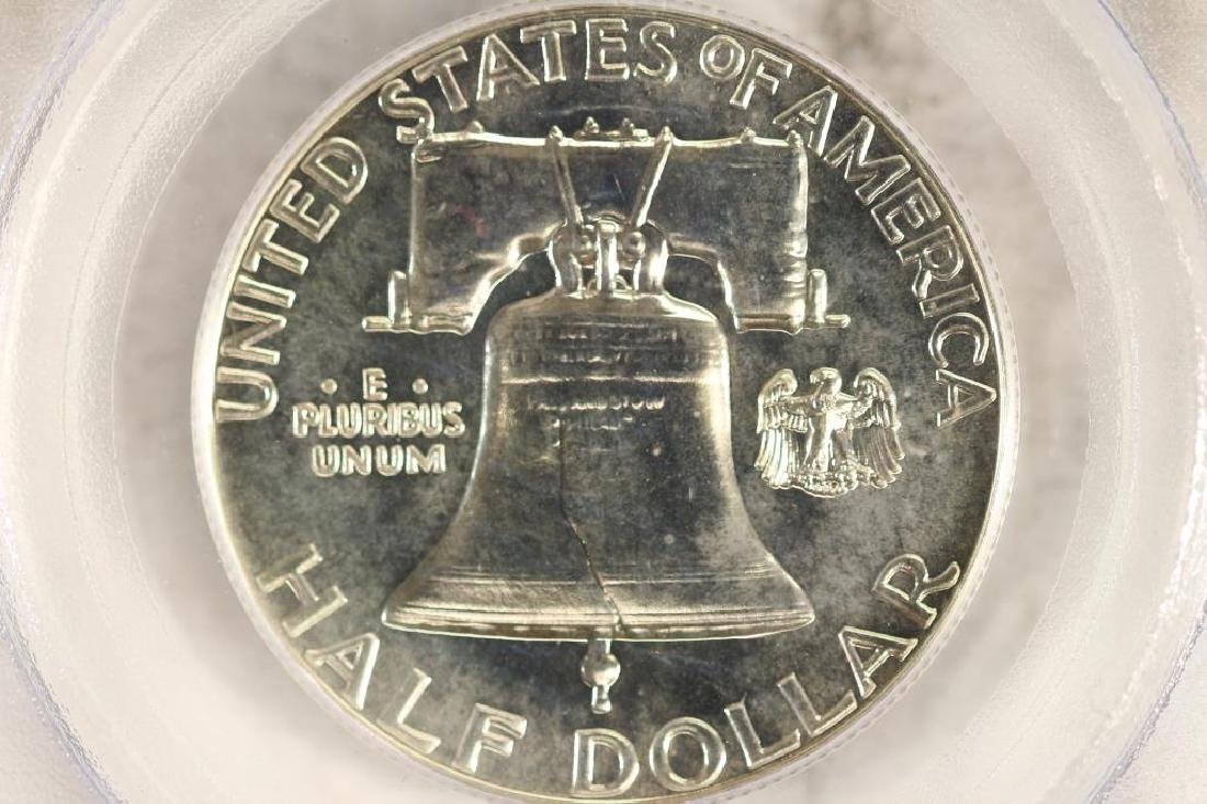 1959 FRANKLIN HALF DOLLAR PCGS PR66 - 2