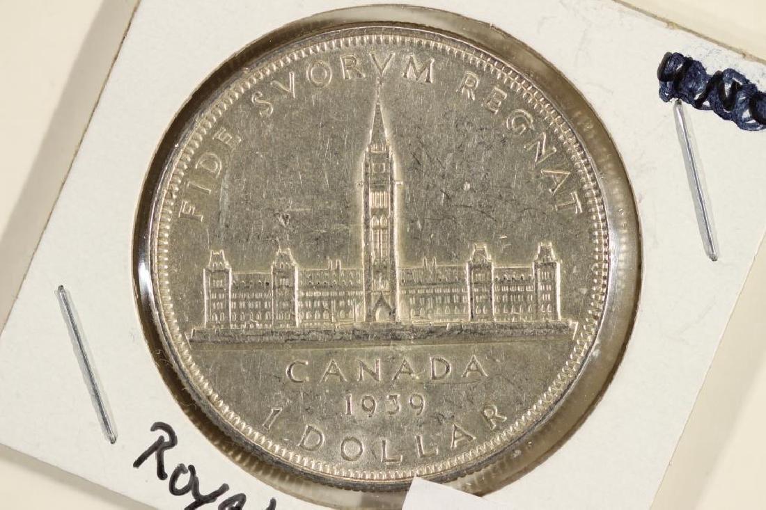 1939 CANADA SILVER DOLLAR