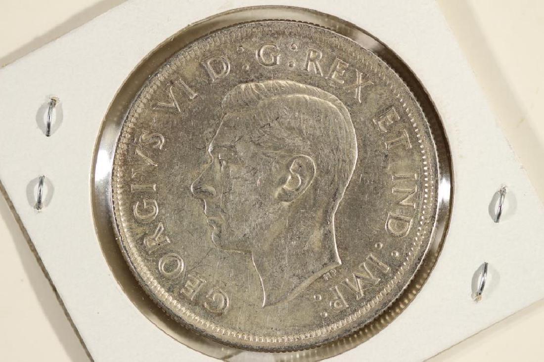 1939 CANADA SILVER DOLLAR - 2