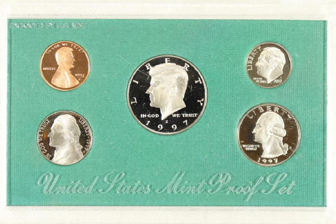 1997 US PROOF SET (WITH NO BOX)