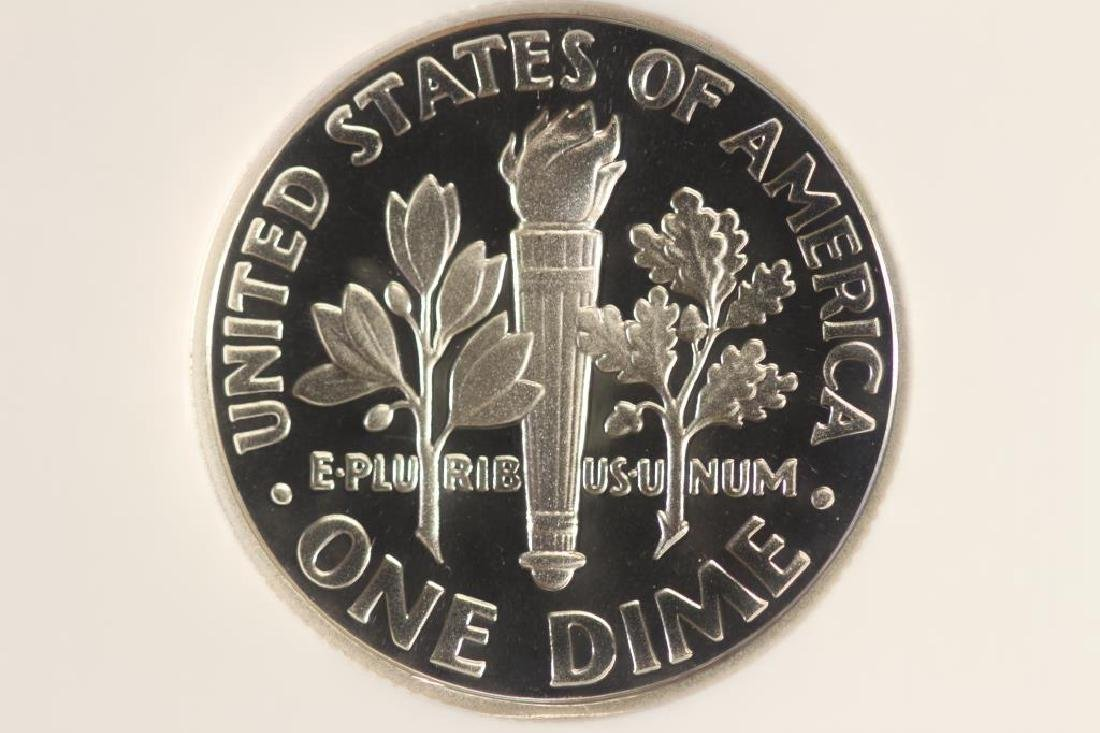 2003-S SILVER ROOSEVELT DIME NGC PF69 ULTRA CAMEO - 2