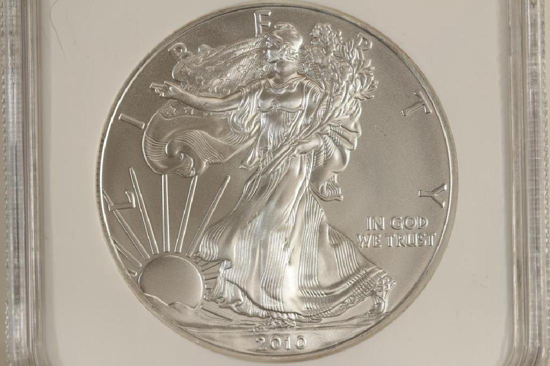 2010 AMERICAN SILVER EAGLE NGC MS69 EARLY RELEASES