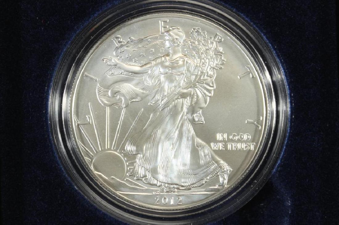 2012-W AMERICAN SILVER EAGLE UNC