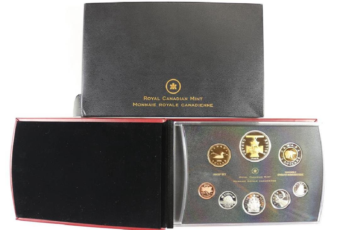 2006 CANADA PROOF SET 8 COINS