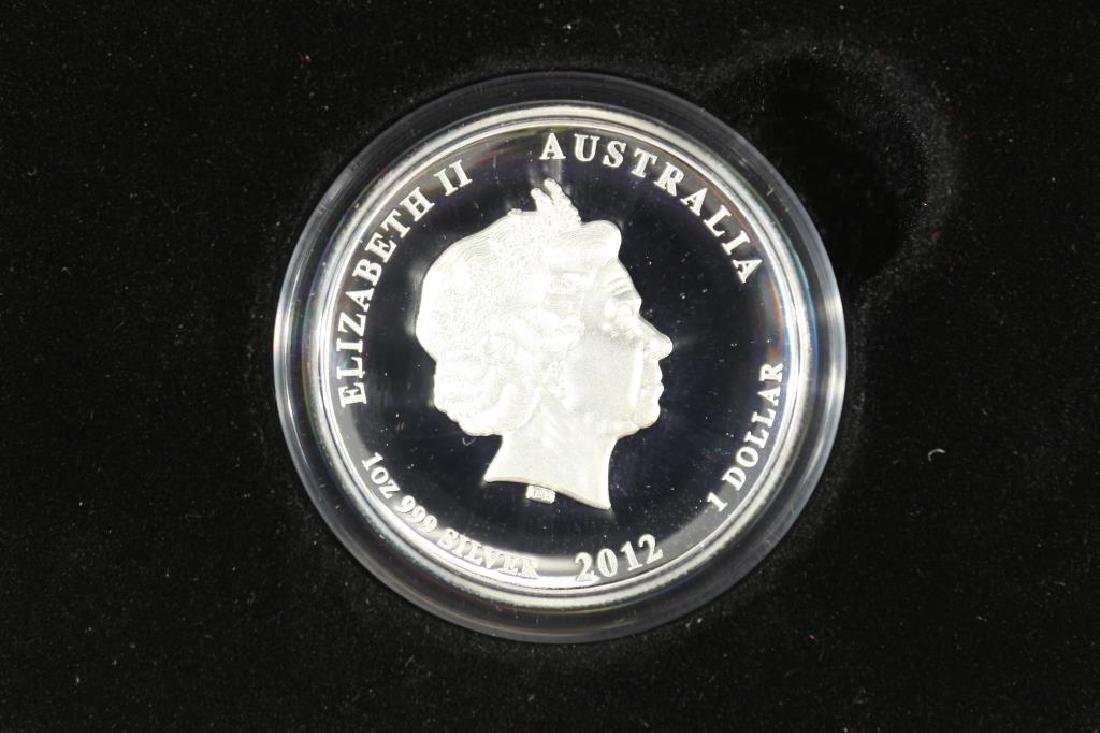 2012 AUSTRALIAN LUNAR YEAR OF THE DRAGON $ - 2