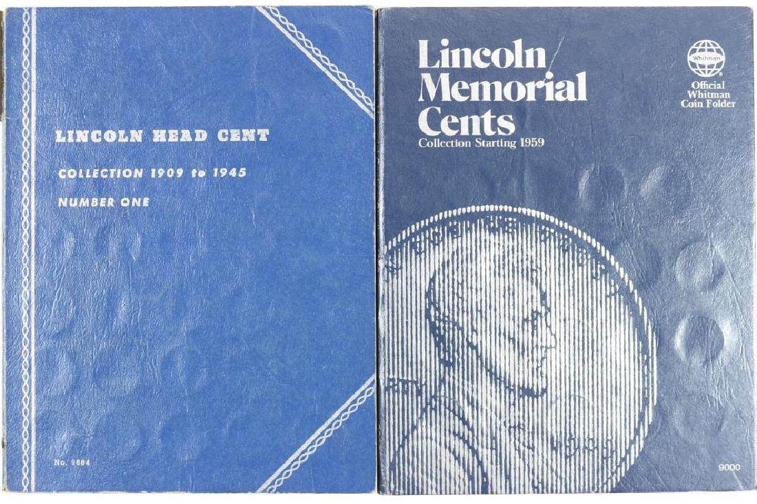 2 PARTIAL LINCOLN CENT ALBUMS 1909-1945 (45 COINS) - 3