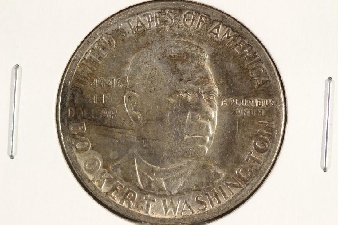 1946 BOOKER T. WASHINGTON COMMEMORATIVE SILVER
