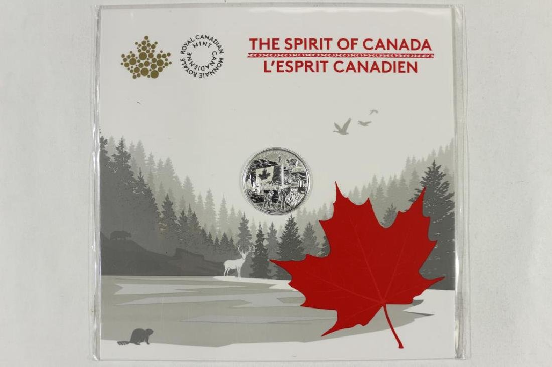 2017 CANADA $3 FINE SILVER COIN (THE SPIRIT OF