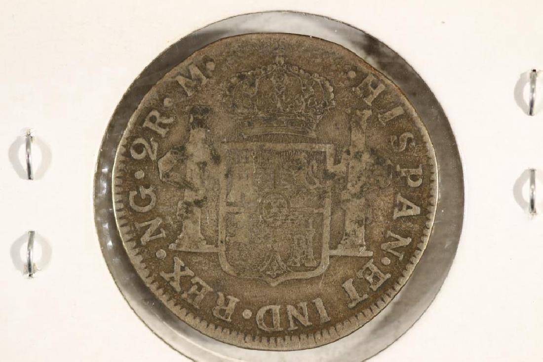 1789 SPAIN SILVER 2 REALE - 2