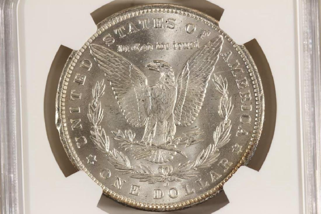 1885-O MORGAN SILVER DOLLAR NGC MS64 - 2