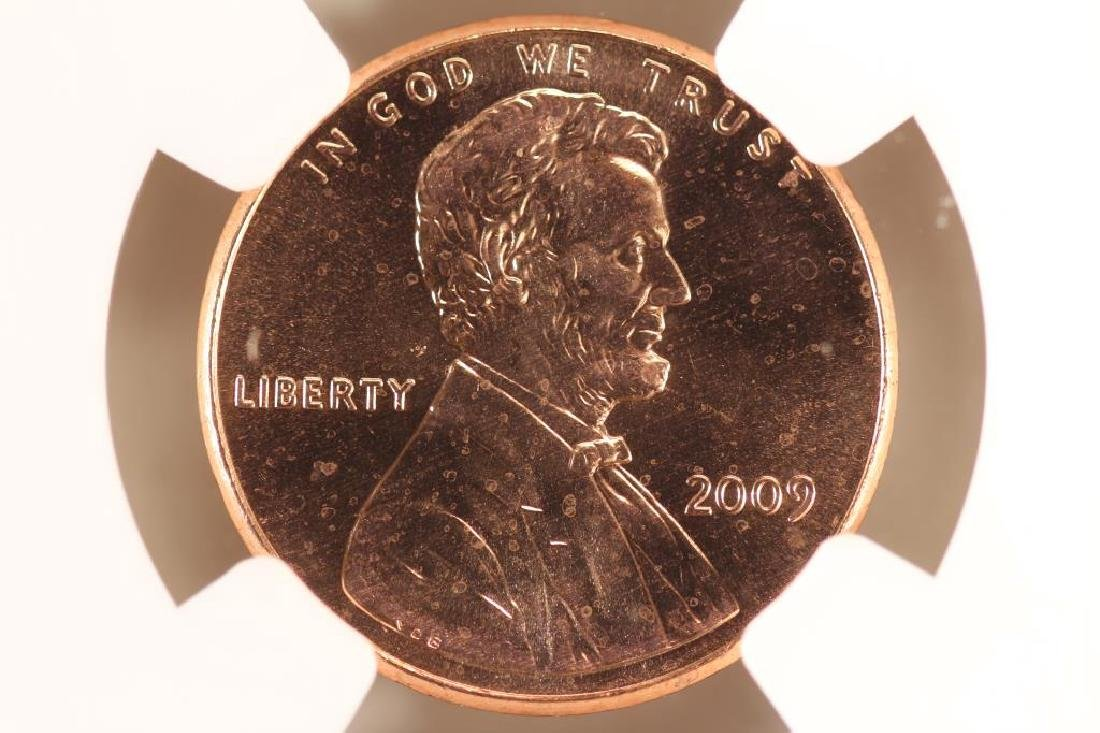 2009 FORMATIVE YEARS LINCOLN CENT NGC MS66RD - 2