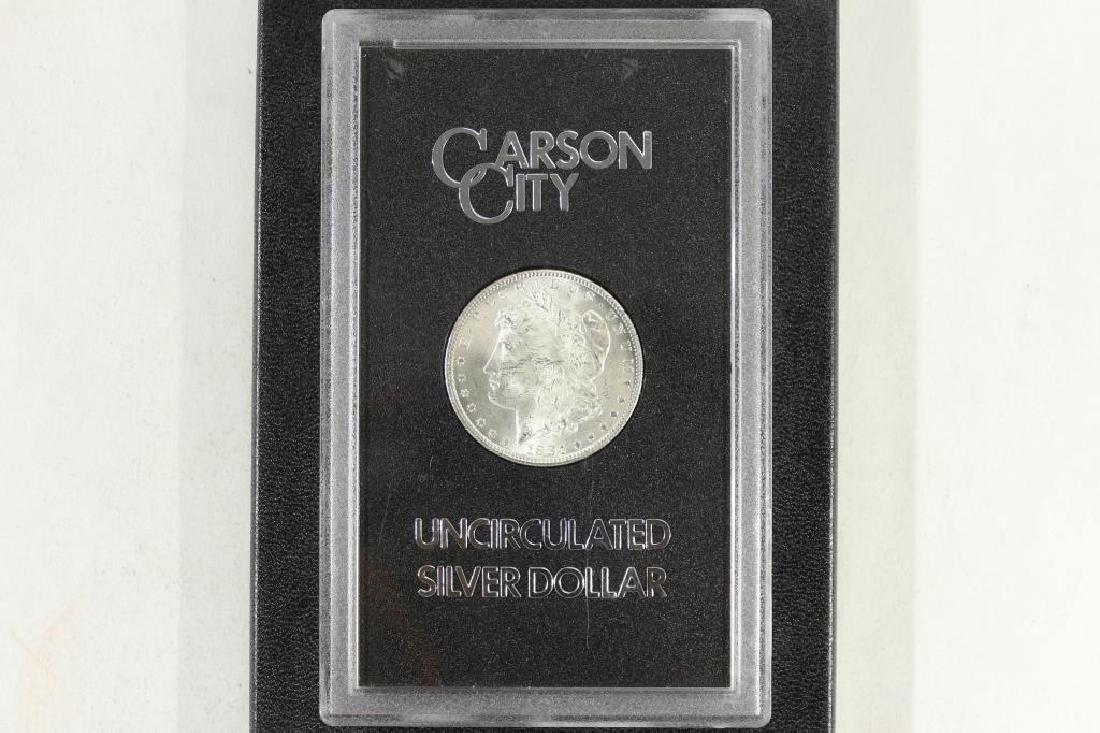 1884--CC GSA MORGAN SILVER DOLLAR (UNC)