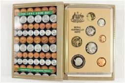 1991 AUSTRALIA PROOF COIN SET COMMEMORATING 25