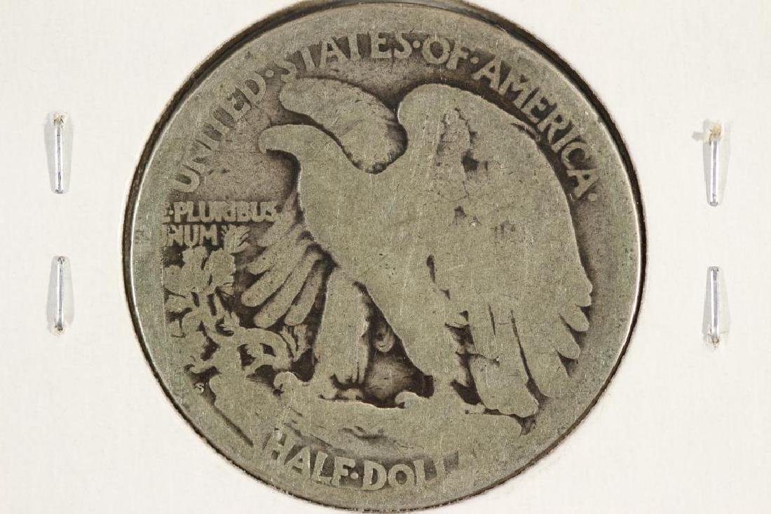 1918-S WALKING LIBERTY HALF DOLLAR - 2