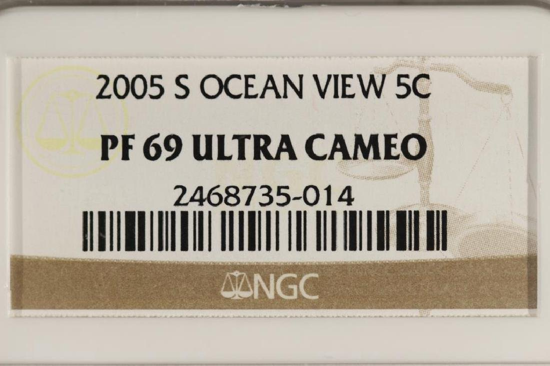 2005-S OCEAN IN VIEW NICKEL NGC PF69 ULTRA CAMEO - 3