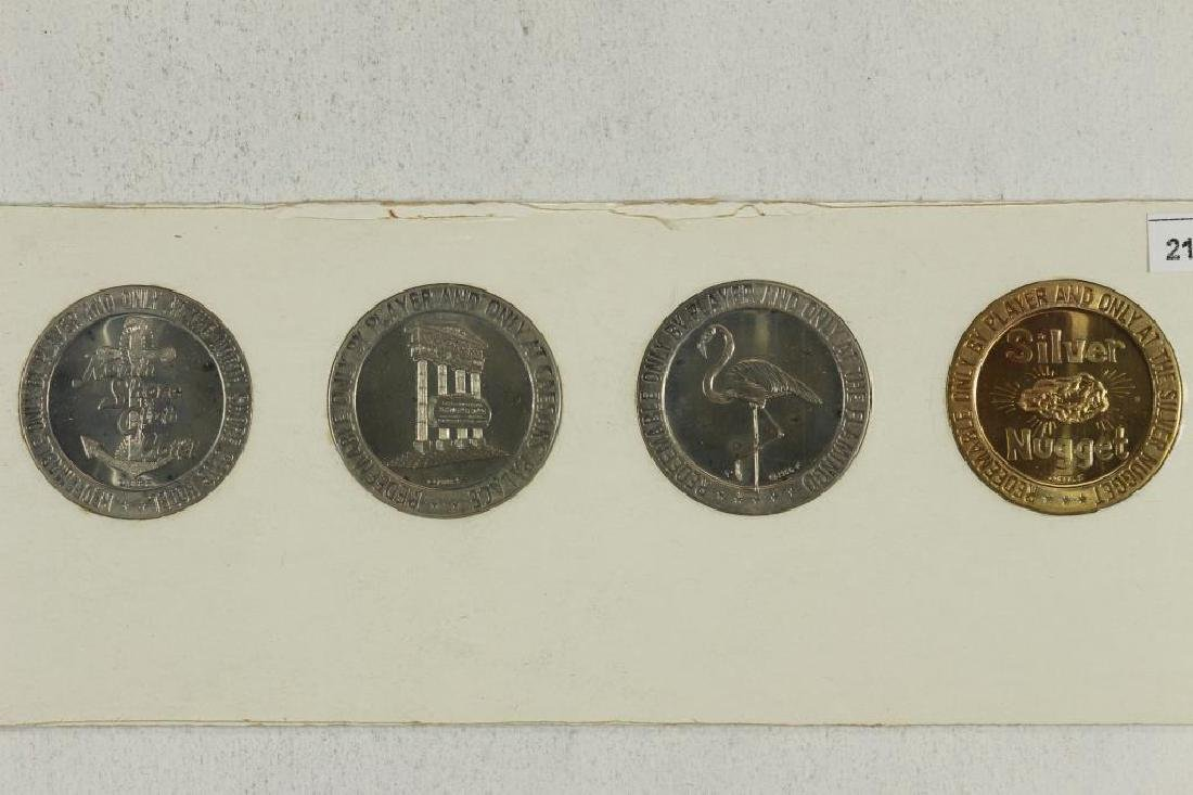 4-$ GAMING TOKENS 1966 SERIES GROUP 9 (PF LIKE) - 2