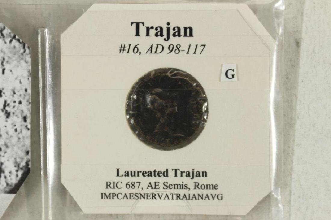 98-117 A.D. TRAJAN ANCIENT COIN - 2
