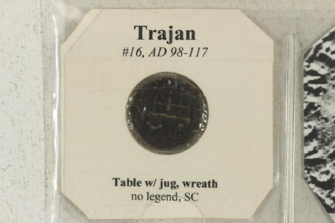 98-117 A.D. TRAJAN ANCIENT COIN - 3