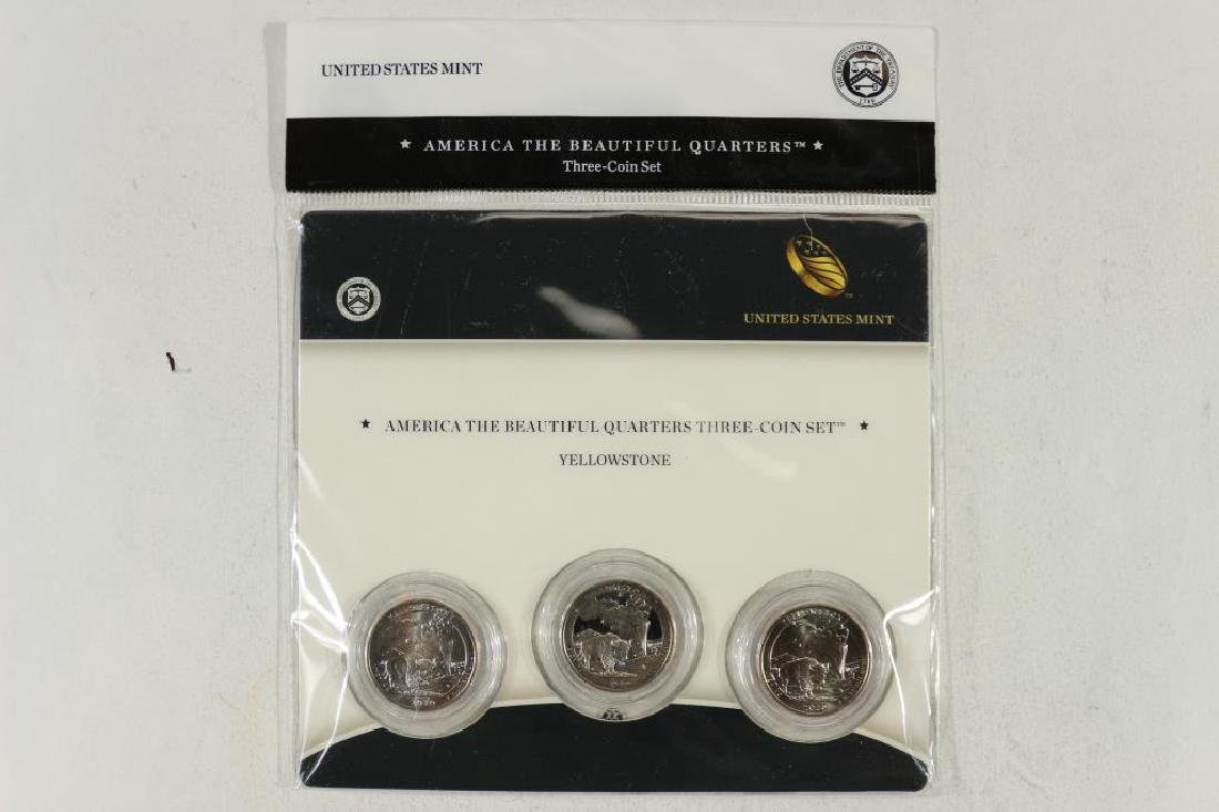 2010-P/D/S AMERICA THE BEAUTIFUL QUARTERS 3 COIN