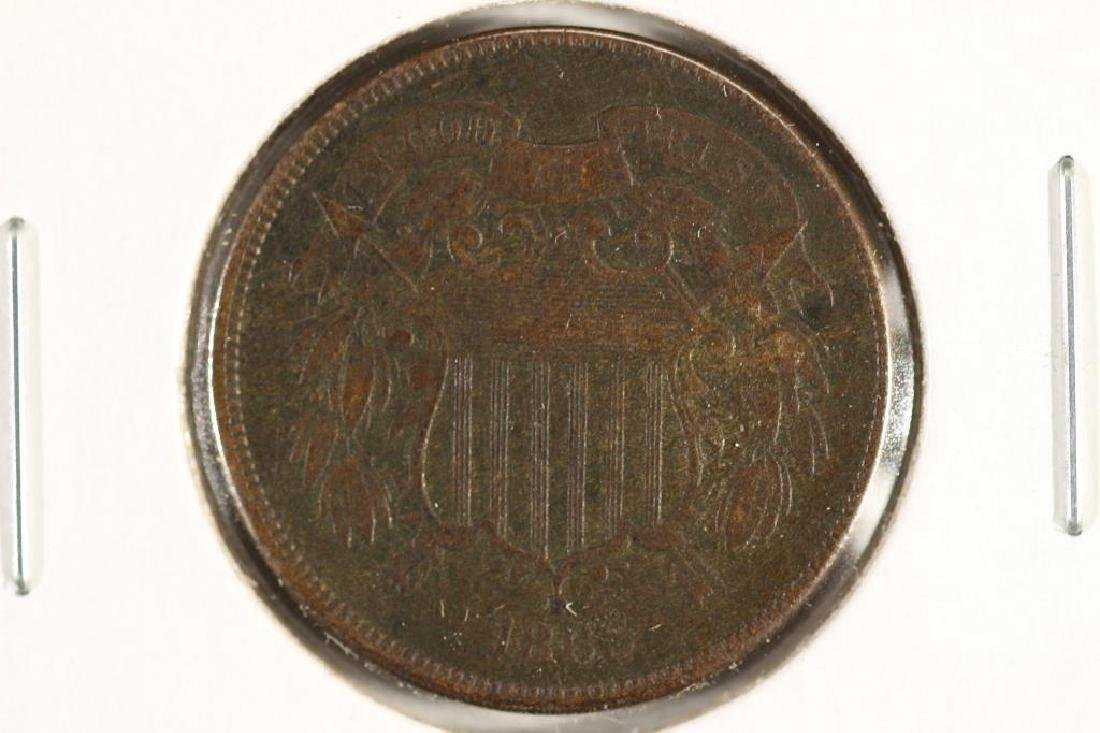 1865 US TWO CENT PIECE (FINE)