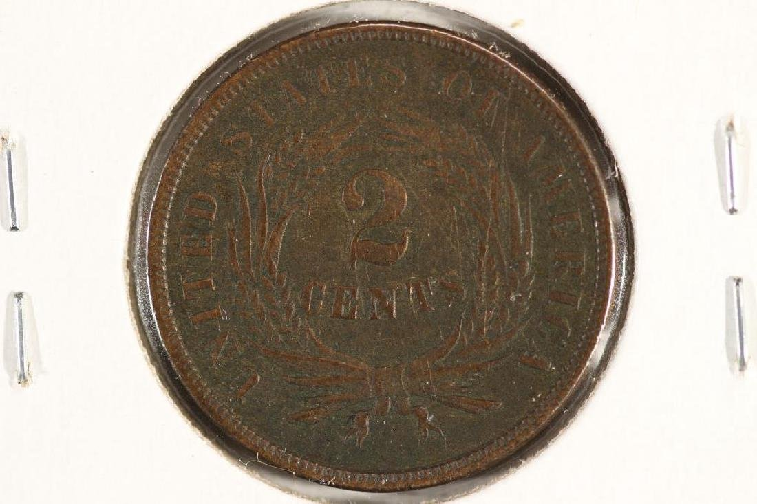 1865 US TWO CENT PIECE (FINE) - 2