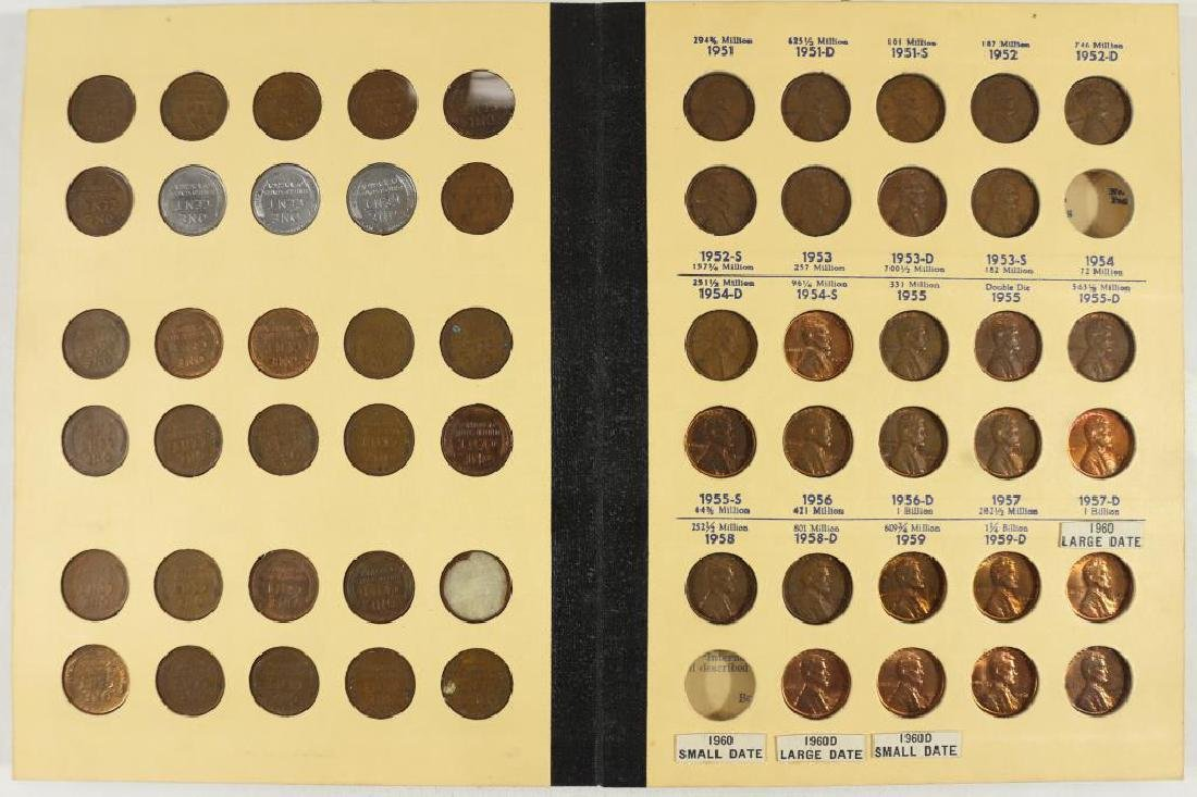 VINTAGE LIBRARY OF COINS LINCOLN CENTS 1941-UP - 2