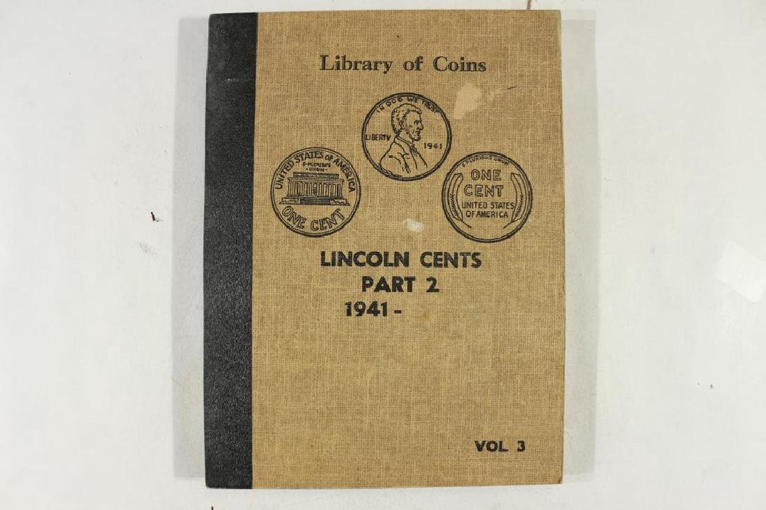 VINTAGE LIBRARY OF COINS LINCOLN CENTS 1941-UP - 4