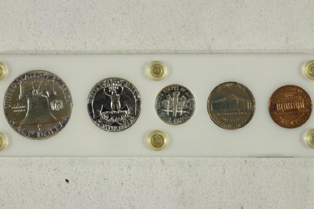 1960 SMALL DATE US SILVER PROOF SET - 2