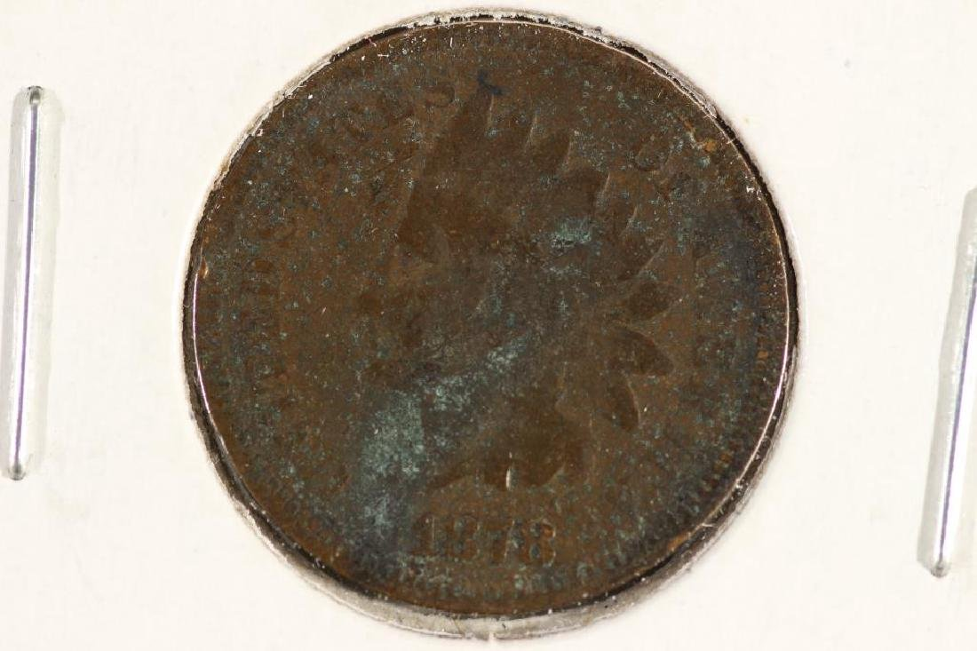 1878 INDIAN HEAD CENT (SEMI-KEY)