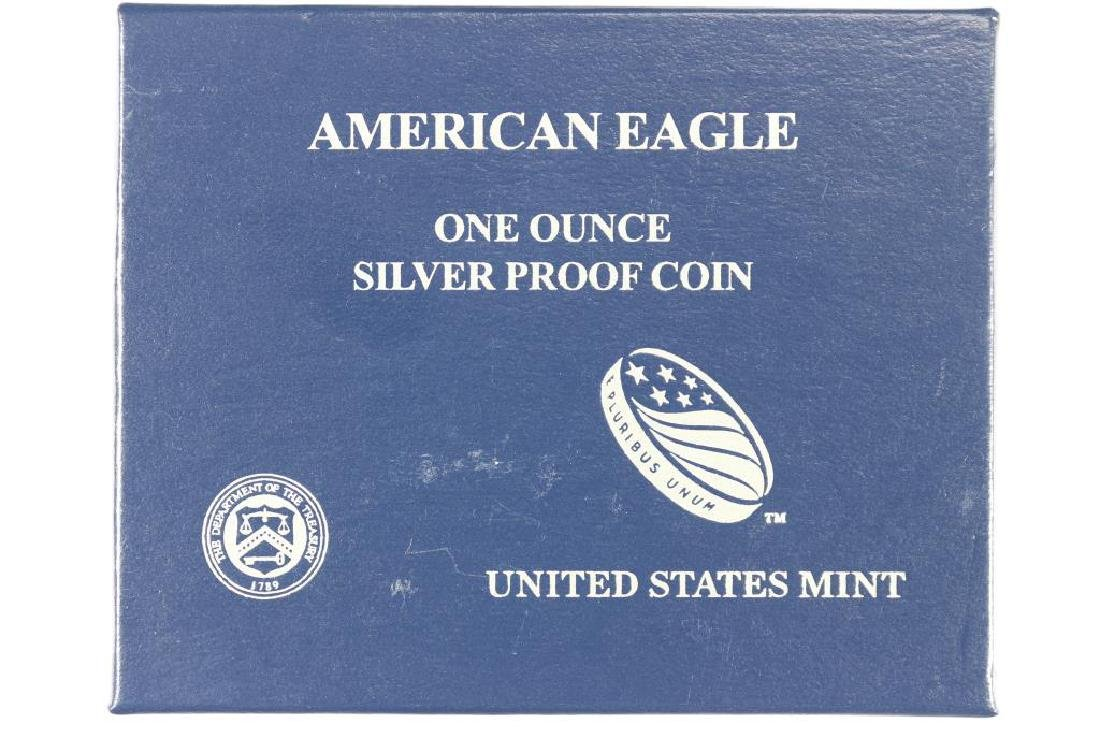 2013-W PROOF AMERICAN SILVER EAGLE - 3