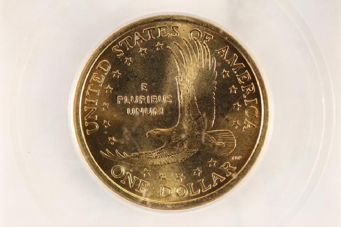 2000-D SACAGAWEA DOLLAR ICG MS67 - 2