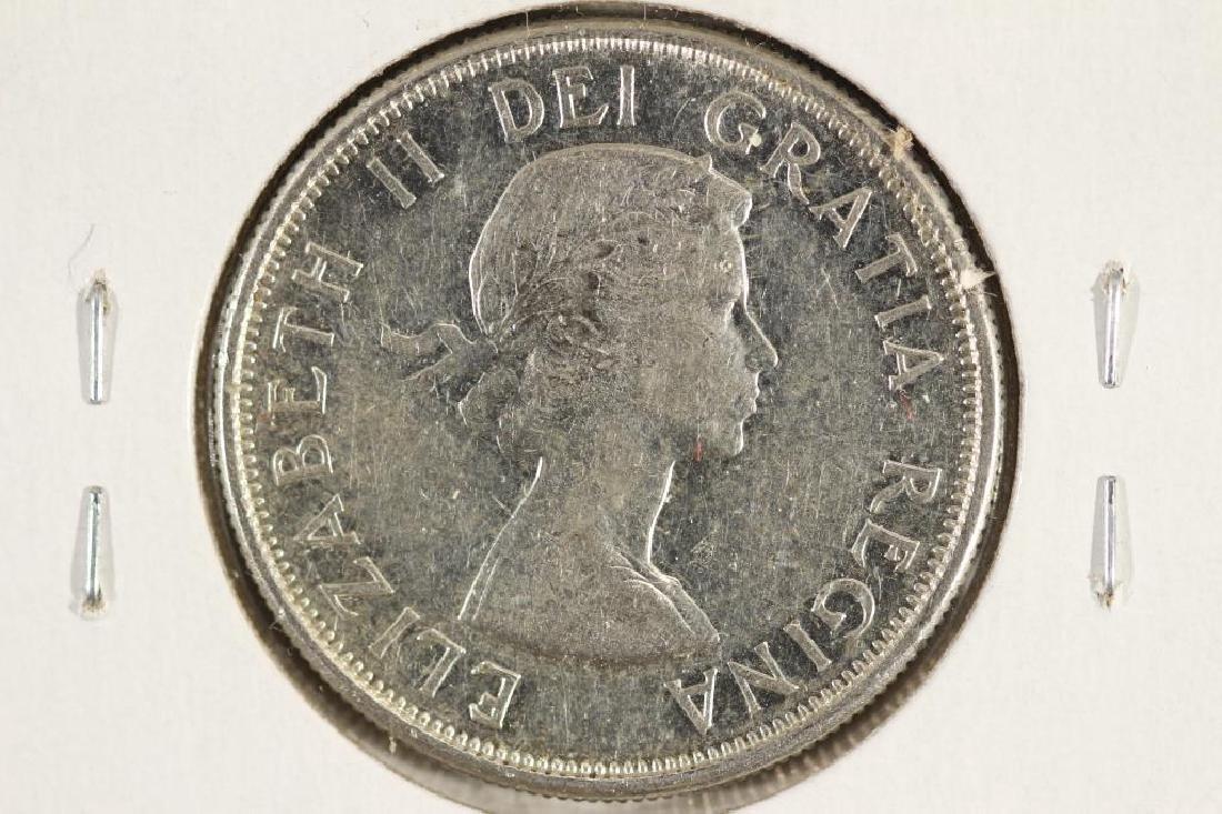 1960 CANADA SILVER 50 CENT - 2