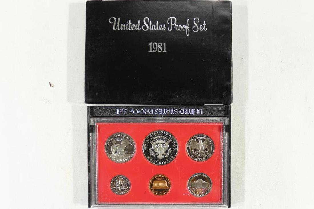 1981 US PROOF SET (WITH BOX) - 2