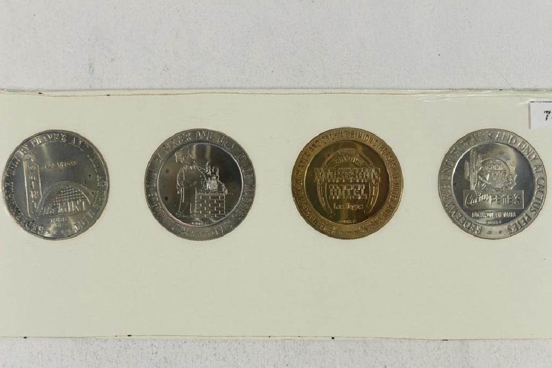 4-1966 SERIES $1 GAMING TOKENS GROUP 12 (PF LIKE) - 2
