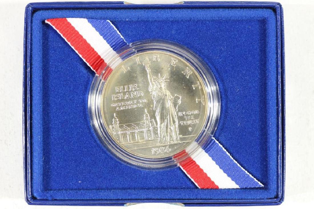 1986-P STATUE OF LIBERTY UNC SILVER DOLLAR