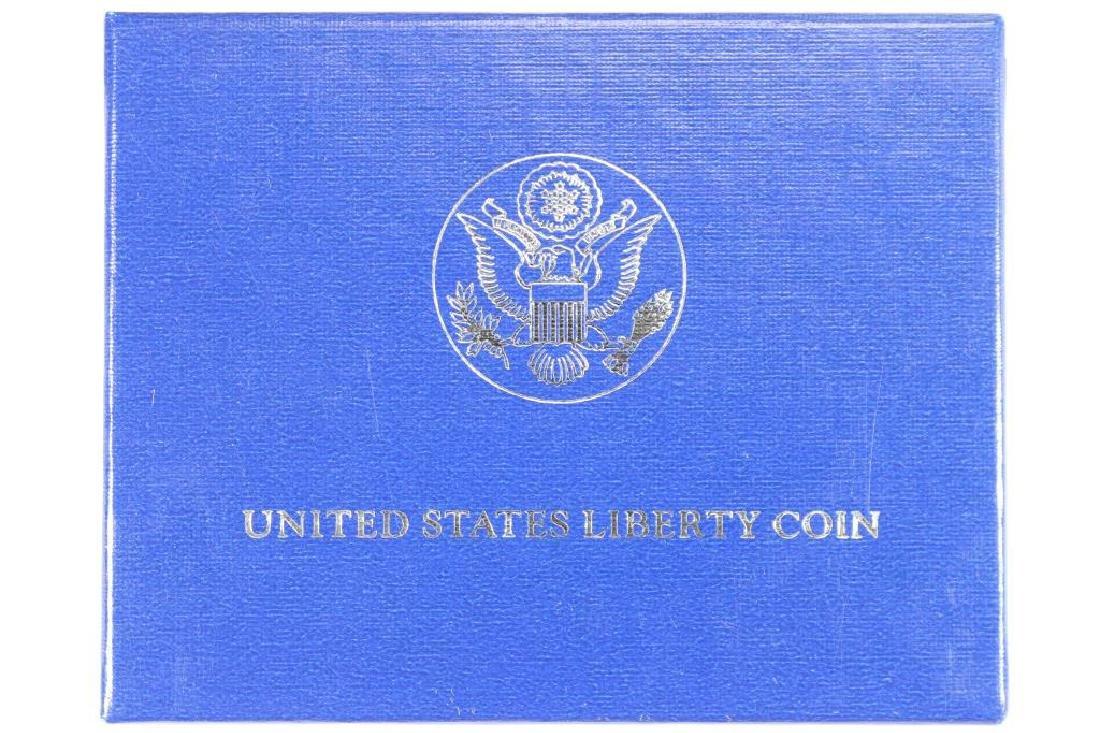 1986-P STATUE OF LIBERTY UNC SILVER DOLLAR - 3