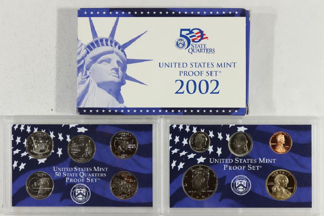 2002 US PROOF SET (WITH BOX)