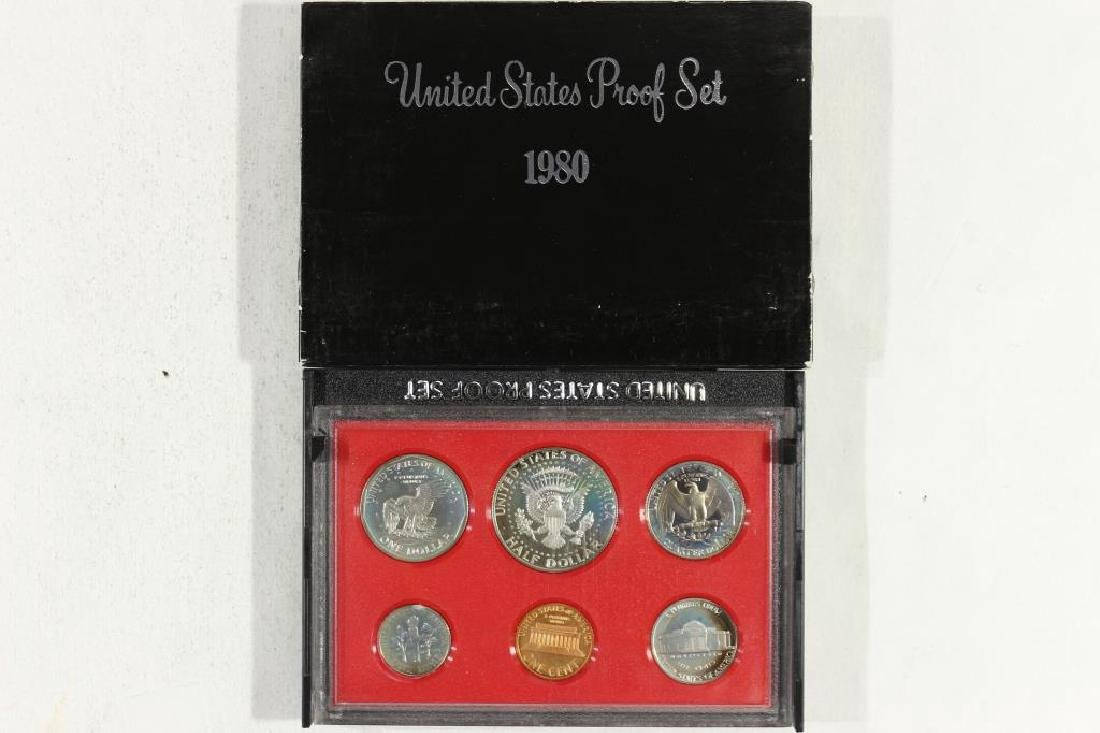 1980 US PROOF SET (WITH BOX) - 2