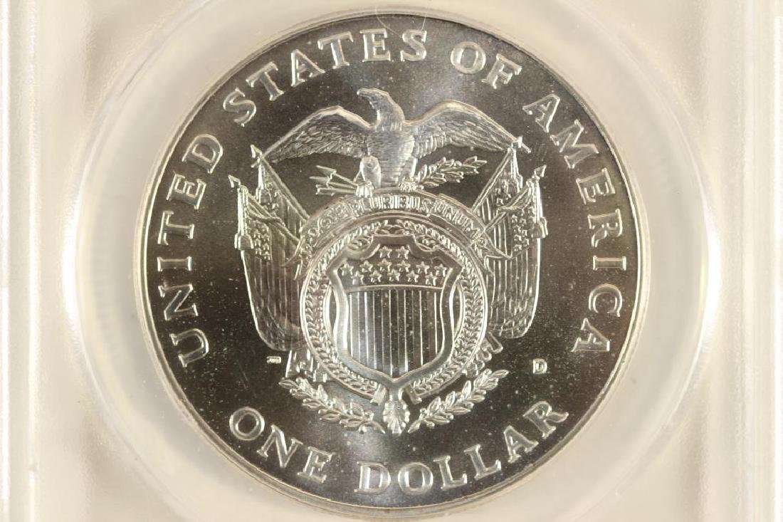 1994-D US CAPITOL SILVER DOLLAR ANACS MS70 - 2
