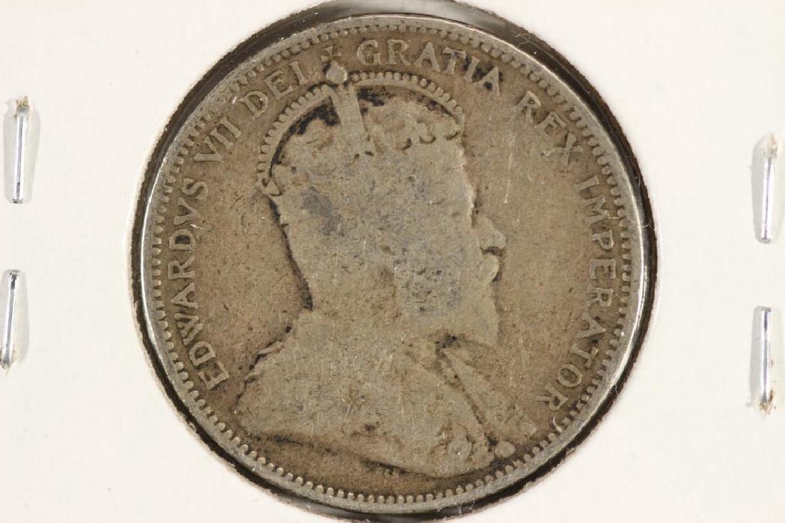 1902-H CANADA SILVER 25 CENT - 2