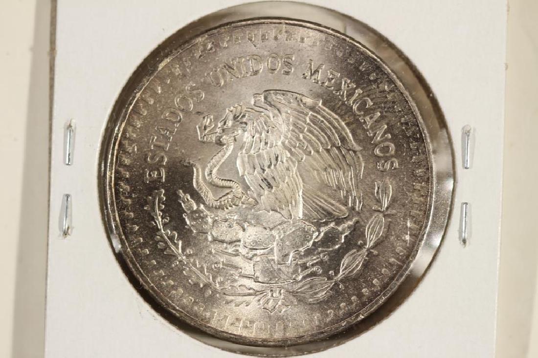 1982 MEXICO 1 ONZA LIBERTAD SILVER - 2