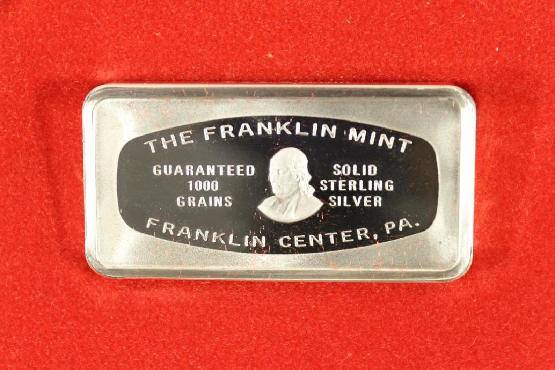 1000 GRAINS SOLID STERLING SILVER FRANKLIN MINT - 2