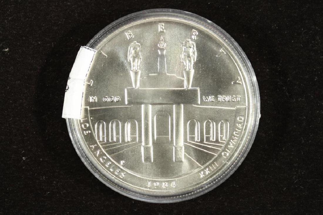 1984-P US OLYMPIC UNC SILVER DOLLAR