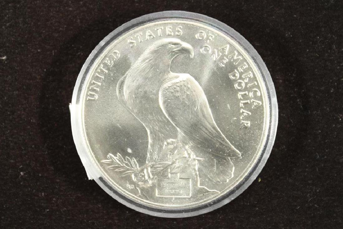 1984-P US OLYMPIC UNC SILVER DOLLAR - 2