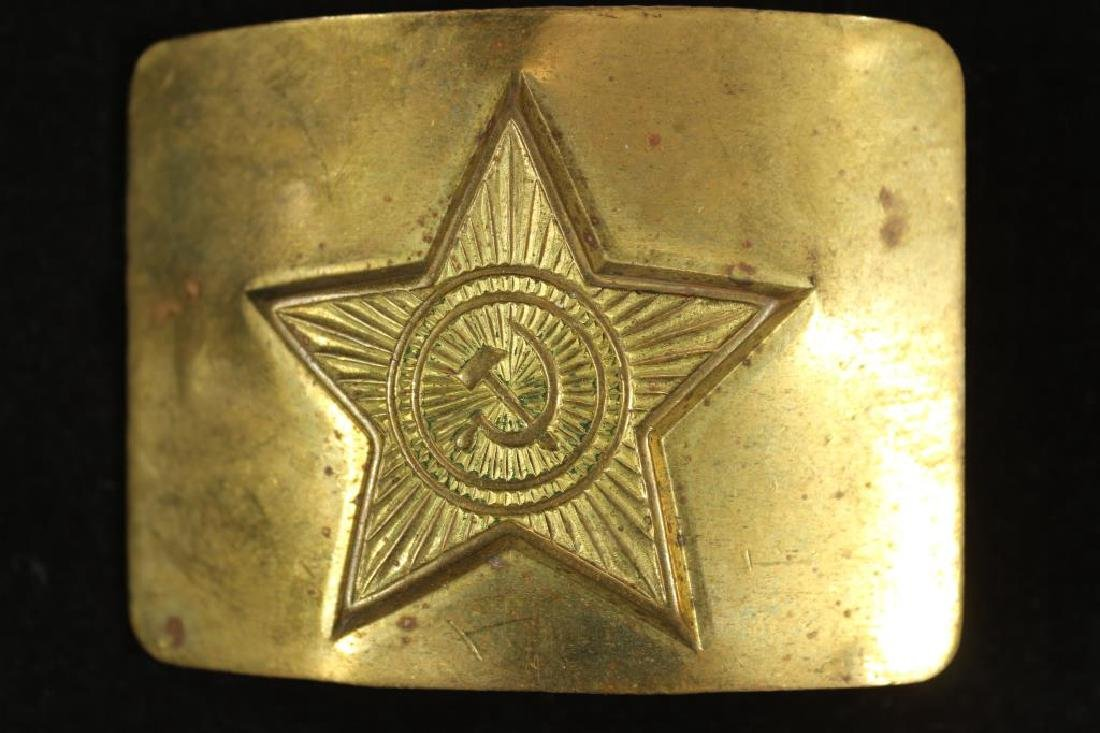SOVIET ARMY BELT BUCKLE