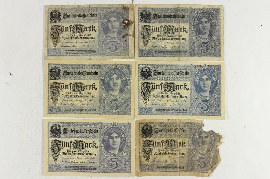 6-1917 GERMAN 5 MARKS
