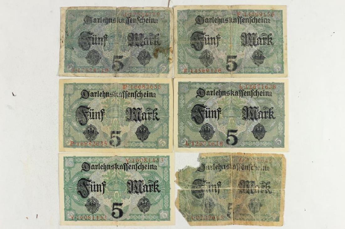 6-1917 GERMAN 5 MARKS - 2